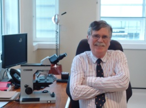 Dr Robin Russell-Jones clinic photo 2013