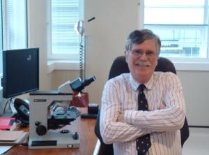 Dr Robin Russell-Jones clinic photo 2013